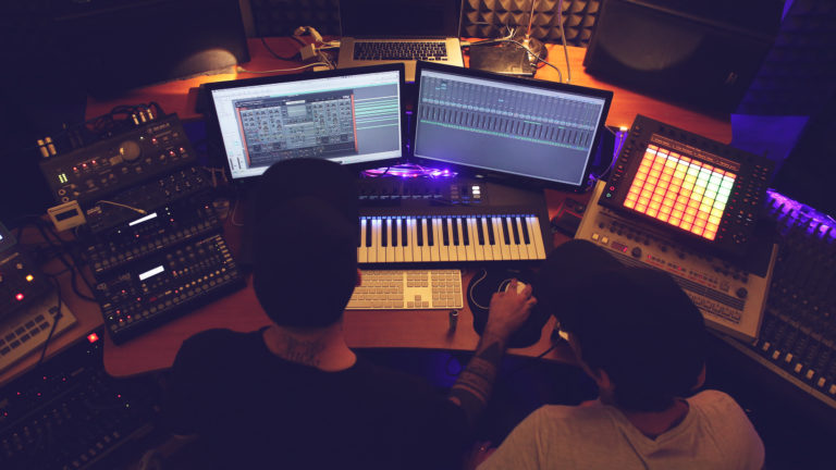 Music production services